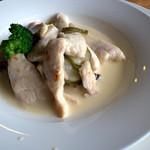 グランパ   - 「鶏胸肉のピクルス煮」。コレ感動的な美味しさです。