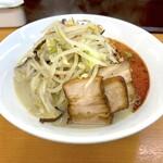 富白 - 鶏ぶた塩辛タンメン(890円)
