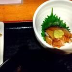 131931826 - 海鮮漬け小鉢 300円 (税抜き) ♪