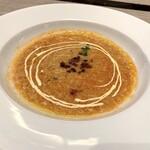 """131933694 - """"ソパ デ アホ"""" ~ジョセップ氏祖母の味、にんにくのスープ~"""
