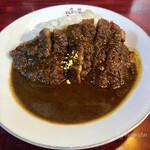 元祖とんかつカレー カツヤ - とんかつカレーB(上ロース肉)税込1,500円