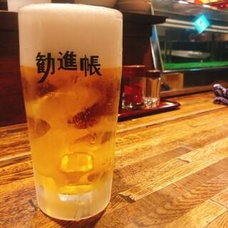樽ごと冷やした生ビールキリンラガー