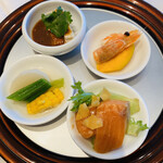Shisentoufahansou - 4種冷菜の盛り合わせ