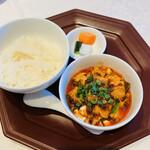 Shisentoufahansou - 麻婆豆腐とライス