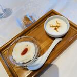 Shisentoufahansou - デザート2種盛り合わせ