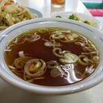 万福 - 定食のスープ!