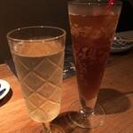 なっぱjuicy - スパークリングワインとジンジャーエール
