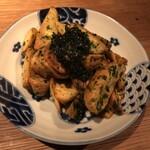 なっぱjuicy - 【酒盗と海苔のフライドポテト】