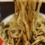 白龍 - 肉味噌を熱々の麺に絡ませたらジャンキーに食う(^^v
