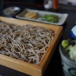文月 - 料理写真:板そば(¥850税込み)