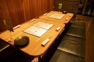 メリメロ亭 - 半個室テーブル席8名様