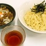宗 - 新500円(ワンコイン)ランチ!らーそうめん+味噌豚そぼろ丼