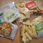 宮沢米菓 - 料理写真:あられ達