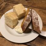 ソプラッチリア - お通しのパン