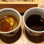 じねんじょ庵 - カレーだれ/謹製もりつゆ