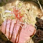 麺屋 燦鶴 - 料理写真:680円税込とは思えない見事なビジュアル