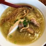 ヌードル マン - 料理写真:純塩鶏そば