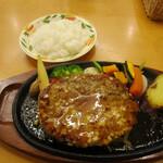 ベジフルキッチン Pepino - 季節限定タケノコハンバーグセット