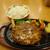 ベジフルキッチン Pepino - 料理写真:季節限定タケノコハンバーグセット