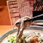 高田屋 - 蕎麦アップ(ゴマ入りです)