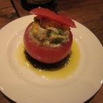 22 - ズワイガニとアボカドのトマトファルシ