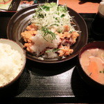 黒ぶたや - NEW!!2012.05 みぞれ唐揚げ定食1,180円