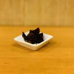 Sanukiudonharushin - 昆布の佃煮