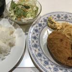 エンドレス - カニ風味クリームコロッケ定食
