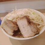 らーめん影武者 - 豚増しラーメン880円