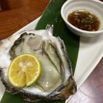 寿司処やぐら - 岩がき ¥時価