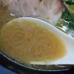 醤丸 - ラーメンのスープ