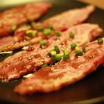 焼肉 晩餐館 - 信州プレミアム牛のカルビ