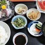 寿多庵 - 旬の刺身定食2,400円