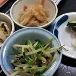 寿多庵 - 小鉢4品