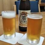 寿多庵 - ノンアルビールで乾杯!