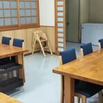 寿多庵 - テーブル席