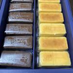 131974788 - 濃厚なショコラスフレとチーズスフレが2種類楽しめます♡