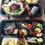 レストラン レヴェリエ - ハンバーグとお魚(税込1200円)