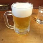 ウチョウテン - 生ビールでひとり乾杯