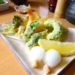 片町 弥ひろ - 天ぷら盛り合わせ