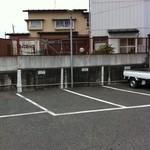 みなと食堂 - 駐車場2012.5