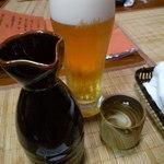 和食彩 匠家 - ドリンク写真:生ビール&冷酒