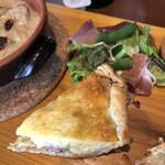 チーズ家 Quelle - キッシュ、美味しかった