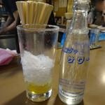 Motsuyakiucchanshinjukuomoideyokochou - レモンサワー¥480