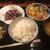 壽哲廸 - 鰹たたき&カツ煮込み定食