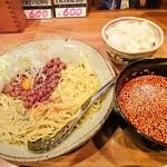 とんがらし - 広島風つけ麺 750円