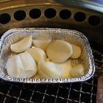 ワンカルビPlus+ - にんにくホイル焼き(340円)