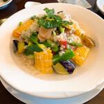 中国料理 伊部 - 夏野菜の涼麺