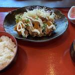 葉山 鳥ぎん - 黒酢チキン南蛮定食