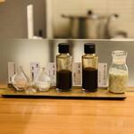 エペ クープ - 塩+ソース+ドレッシング